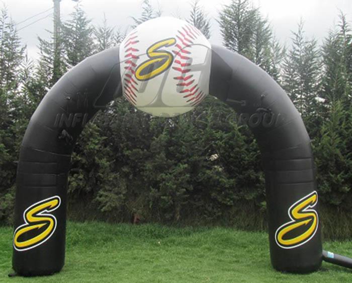 Baseball Archway