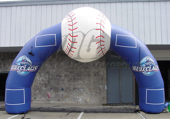 Lakewood Blue Claws archway
