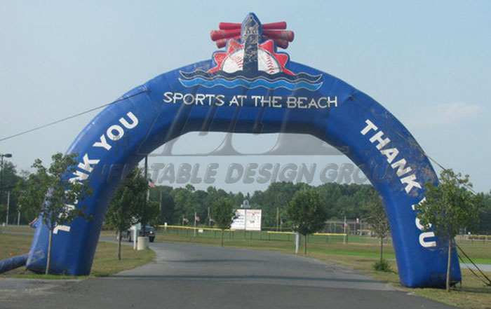 Sports at the Beach Archway