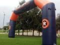 Houston Astros Custom Inflatable Arch