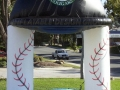 Kane County Cougars Cap Archway