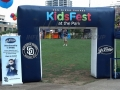 San Diego Padres Square Leg Inflatable Arch