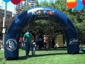 San Diego Padres Tube Inflatable Arch