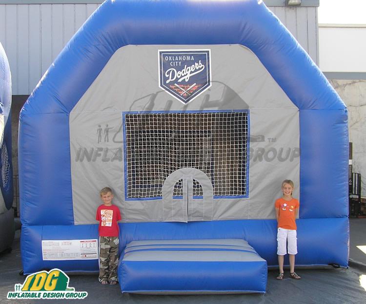 Oklahoma City Dodgers Bounce House