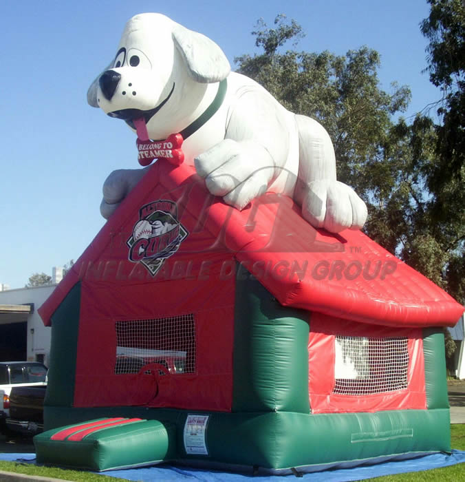 Altoona Curve Dog House Inflatable