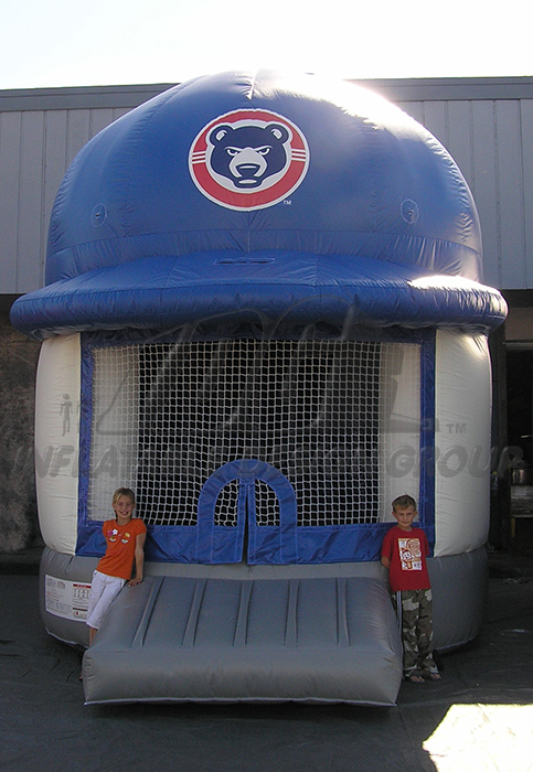 South bend cubs helmet bounce Inflatable
