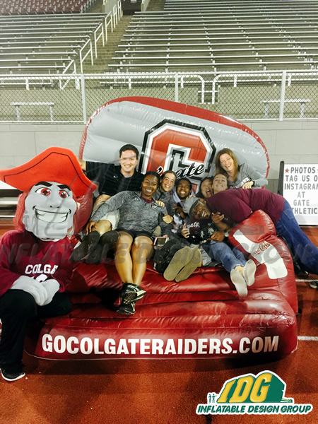 Colgate inflatable Couch