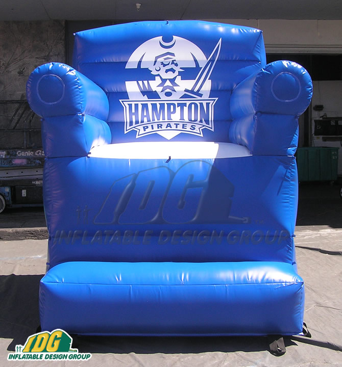 Giant inflatable V