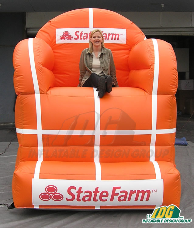State Farm inflatable Seat