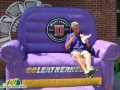 Western Illinois inflatable Couch