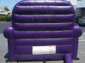 stockton kings custom inflatable couch
