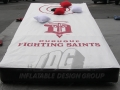 Dubuque Fighting Saints Cornhole Game