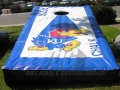University of Kansas Cornhole Game