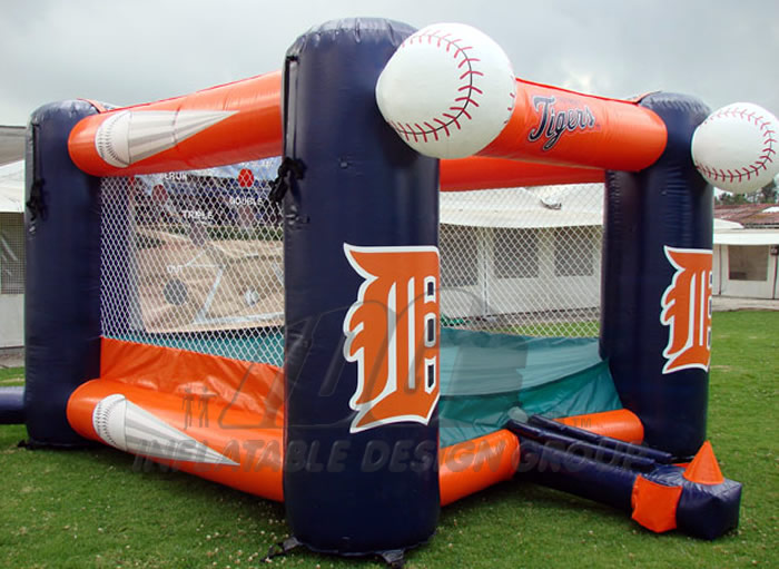 Detroit Tigers Inflatable Tee Ball