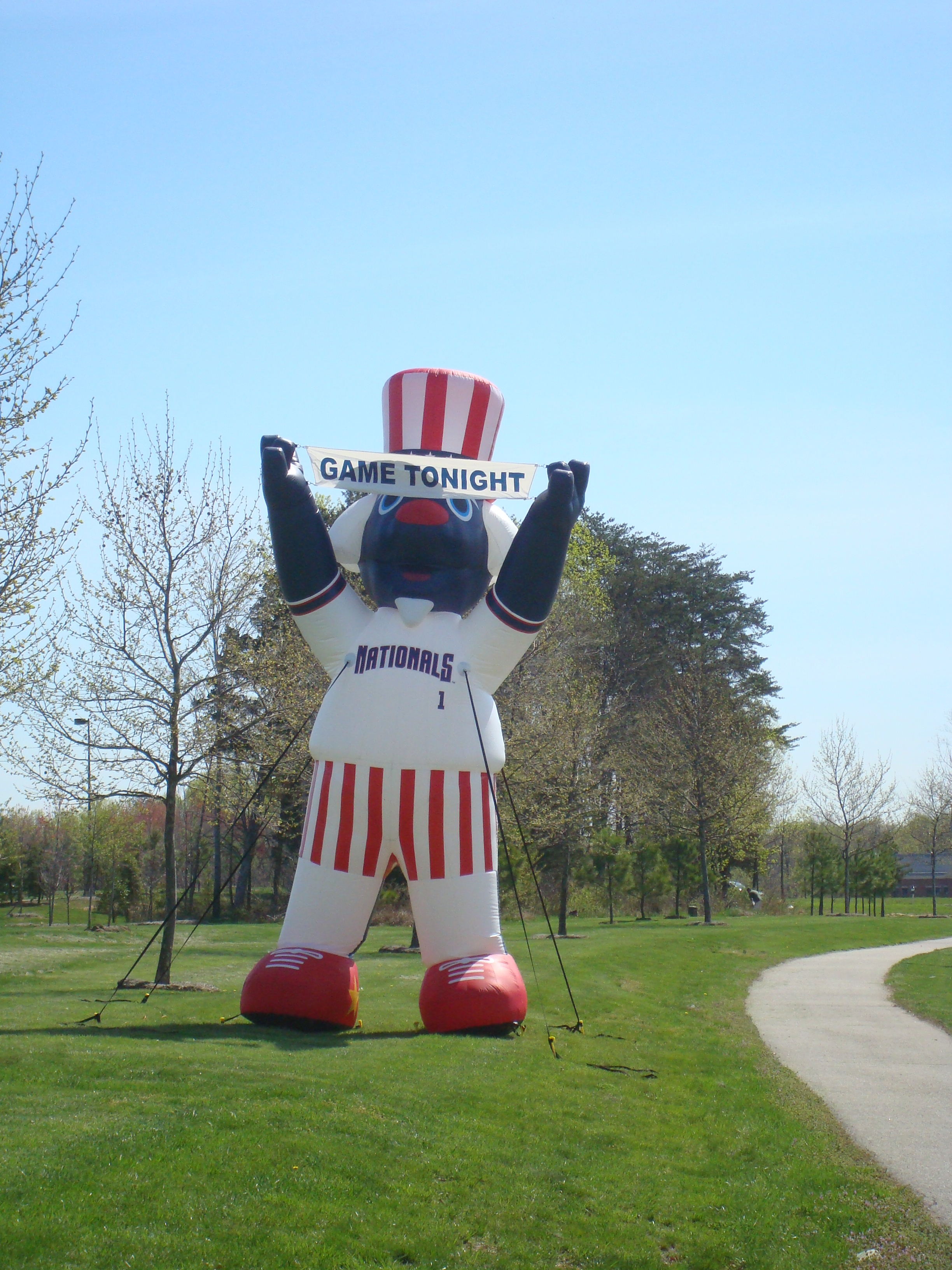 Patomic Nationals Mascot