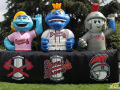 Rome Braves Inflatable Mascot