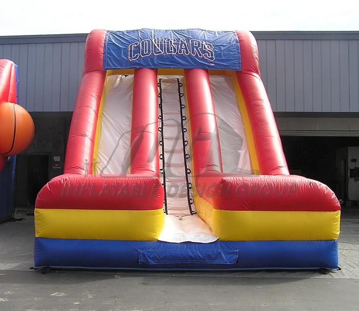 Cougars Dual Lane Inflatable Slide