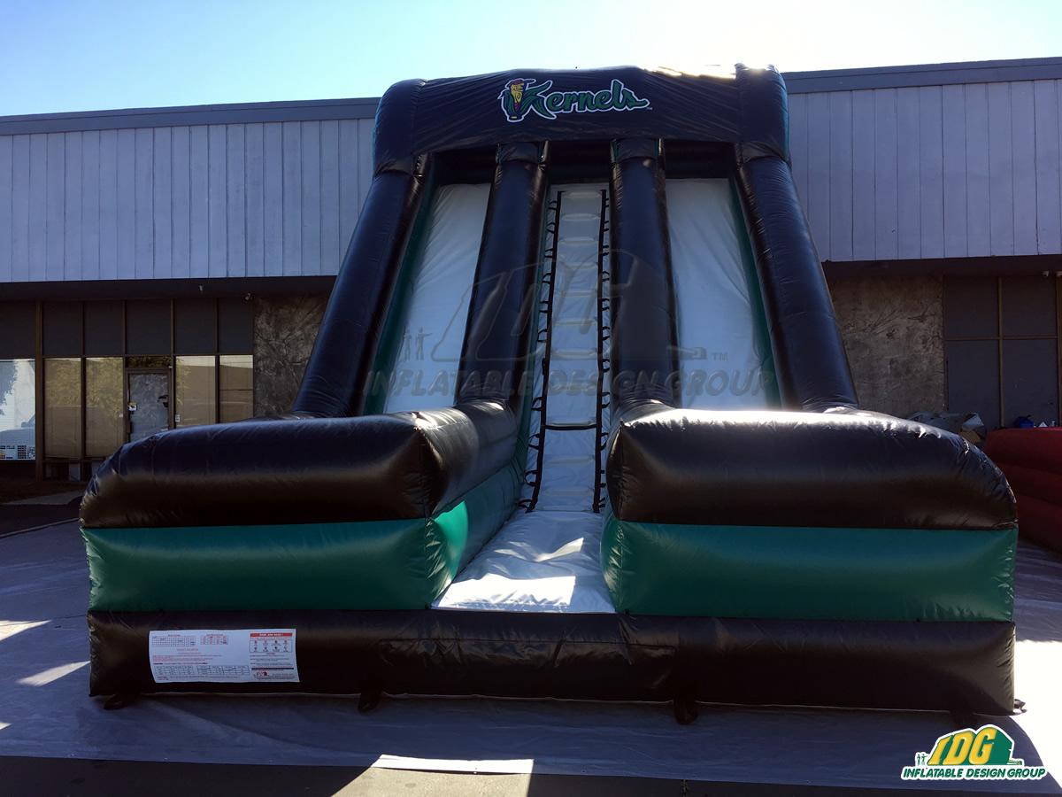 Cedar Rapids Kernals Inflatable Baseball Slide