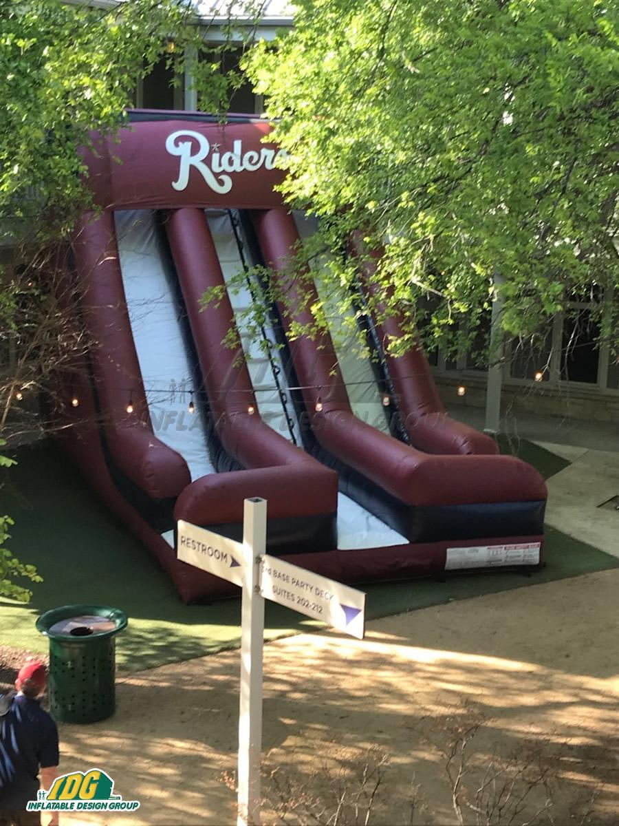 Inflatable Frisco Dual Slide