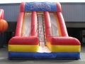 Cougars Dual Lane Inflatable Slide