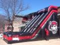 22'H Erie Seawolves slide Inflatable