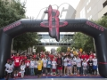 Houston Rockets Archway in Action