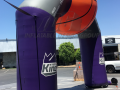 stockton kings custom inflatable archway