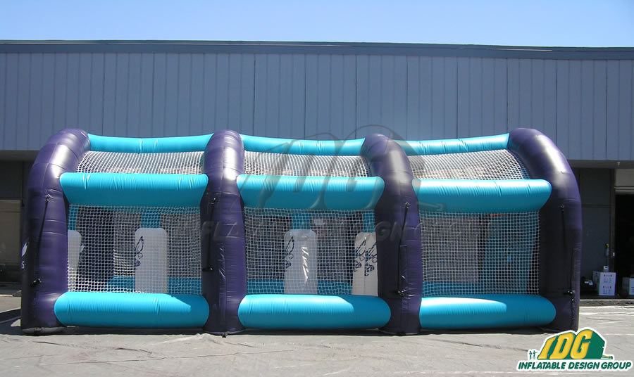 Inflatable Basketball Obstacle