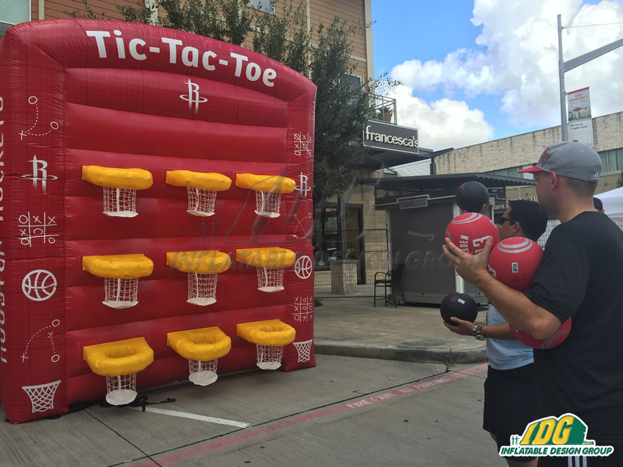 Rockets Inflatable Game