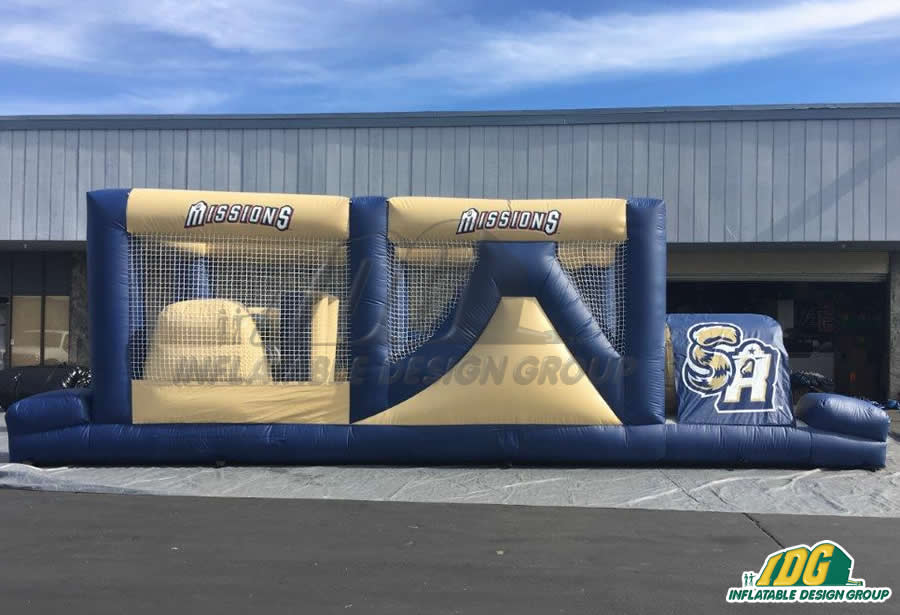 San Antonio Spurs Basketball Obstacle Course