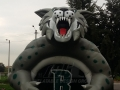 Inflatable Bobcat Front
