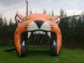 Inflatable Bobcat Head