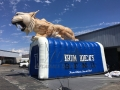 Inflatable Bobcat Sideview