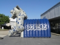 Inflatable Bobcat Tunnel Sideview