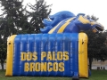Inflatable Bronco Tunnel