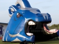 Inflatable Mustang Head Field