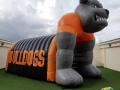 Bulldogs entryway inflatable