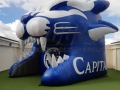 capital hs custom inflatable cougar entryway