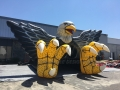 Inflatable Bird Front View