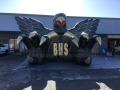 Inflatable Black Eagle Entryway