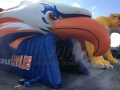 Inflatable Eagle Head Entryway with Smoke