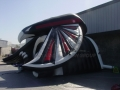Inflatable Falcon Entryway Side View