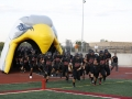 Inflatable Falcon Head Runout