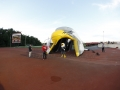 Inflatable Falcon Head