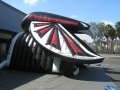 Inflatable Falcon Tunnel Side View