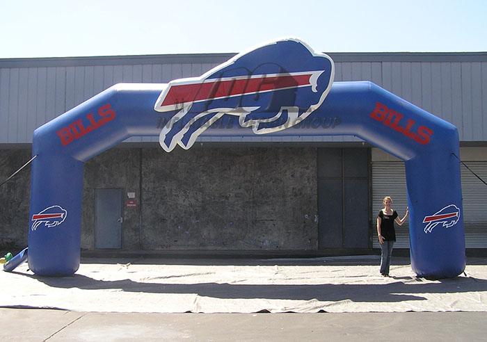 Buffalo Bills Inflatable Entryway
