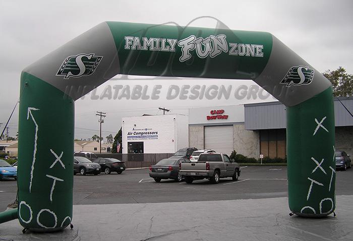 Angular Inflatable Archway