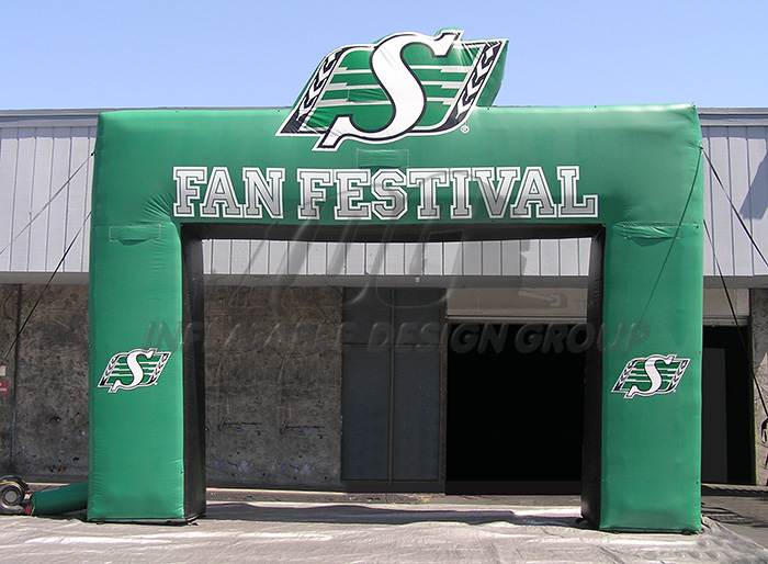 Fan Fest Inflatable Archway