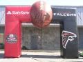 Atlanta Falcons Square Block Archway