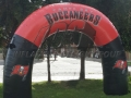 Tampa Bay Bucs Inflatable Archway